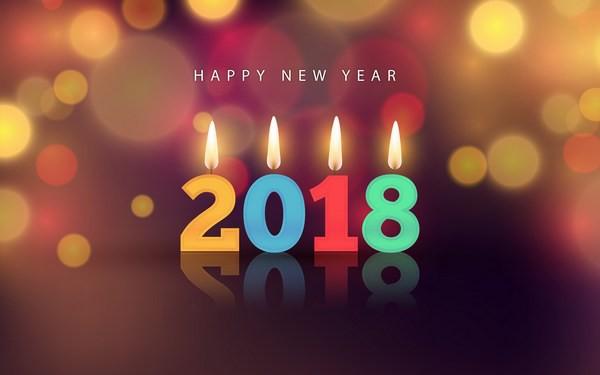 Bộ ảnh đẹp Chúc mừng năm mới 2018 trên mạng xã hội - Ảnh 13.