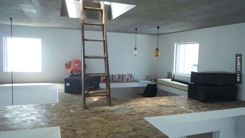 Độc đáo ngôi nhà được thiết kế kỳ lạ, không tường, không cầu thang - Ảnh 16.
