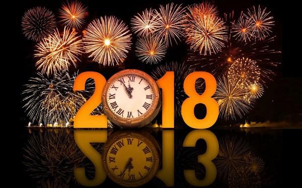 Bộ ảnh đẹp Chúc mừng năm mới 2018 trên mạng xã hội - Ảnh 18.