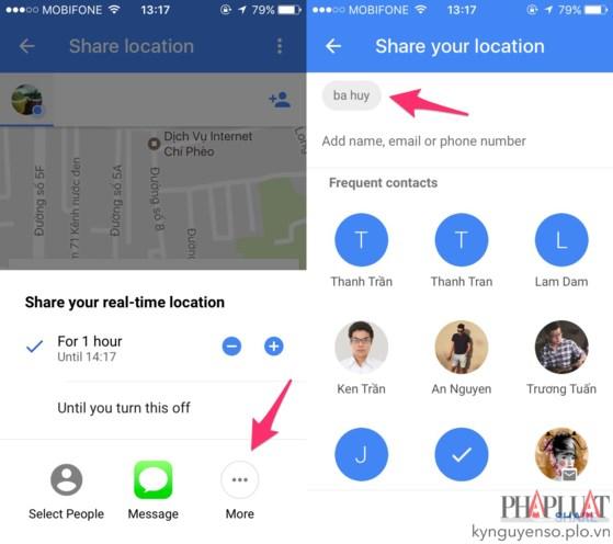 Mẹo chia sẻ vị trí theo thời gian thực trên Google Maps - Ảnh 3.