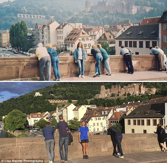 Độc đáo bộ ảnh xưa và nay sau 30 năm ở châu Âu - Ảnh 4.
