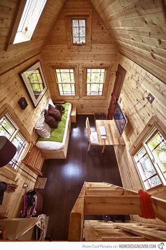 Bên trong ngôi nhà siêu nhỏ đáng mơ ước của cặp vợ chồng trẻ - Ảnh 2.