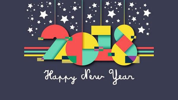 Bộ ảnh đẹp Chúc mừng năm mới 2018 trên mạng xã hội - Ảnh 3.