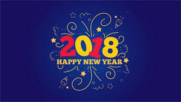 Bộ ảnh đẹp Chúc mừng năm mới 2018 trên mạng xã hội - Ảnh 21.