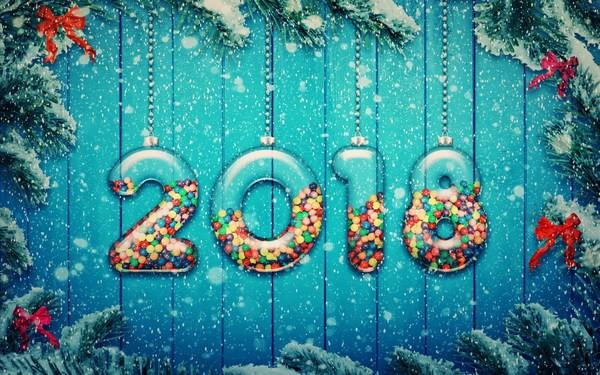 Bộ ảnh đẹp Chúc mừng năm mới 2018 trên mạng xã hội - Ảnh 24.