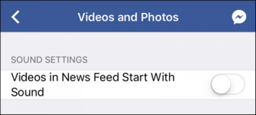 Cách ngăn không cho Facebook tự động phát âm thanh video - Ảnh 5.