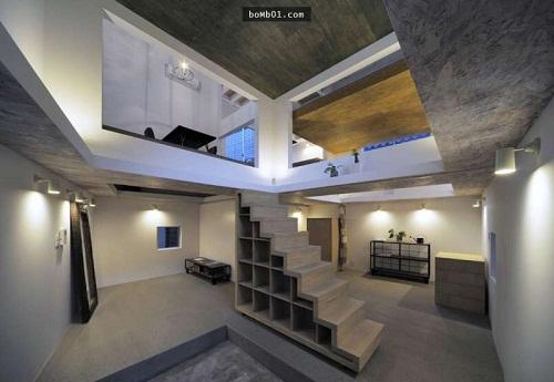 Độc đáo ngôi nhà được thiết kế kỳ lạ, không tường, không cầu thang - Ảnh 5.