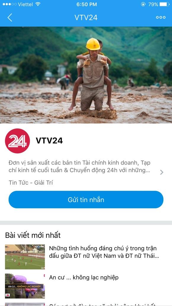 Fanpage Trung tâm tin tức VTV24 cán mốc 1 triệu người theo dõi - Ảnh 6.