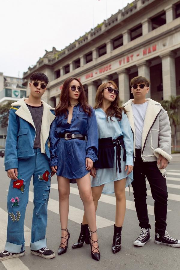 Team Yến Trang khoe street style chất lừ trước đêm thi đối đầu The Remix - Ảnh 6.