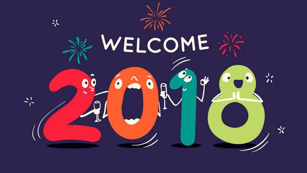 Bộ ảnh đẹp Chúc mừng năm mới 2018 trên mạng xã hội - Ảnh 6.