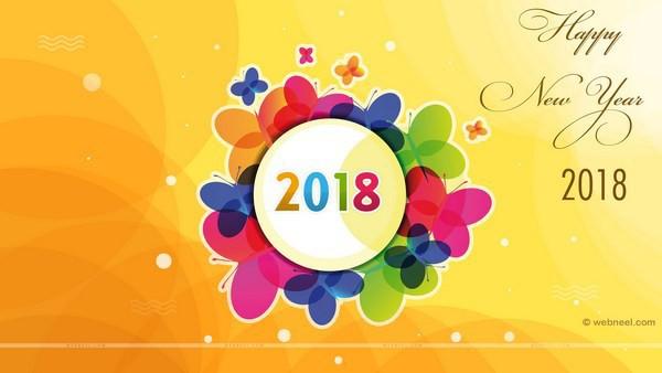 Bộ ảnh đẹp Chúc mừng năm mới 2018 trên mạng xã hội - Ảnh 7.