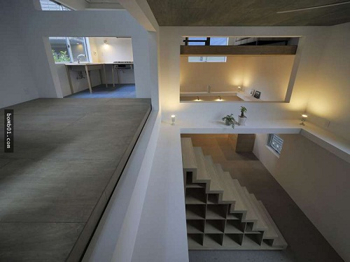 Độc đáo ngôi nhà được thiết kế kỳ lạ, không tường, không cầu thang - Ảnh 8.