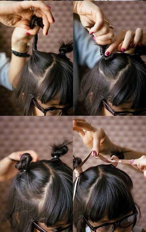 Những kiểu tóc tết đáng yêu cho bé gái đi chơi dịp Tết Dương lịch 2018 - Ảnh 9.