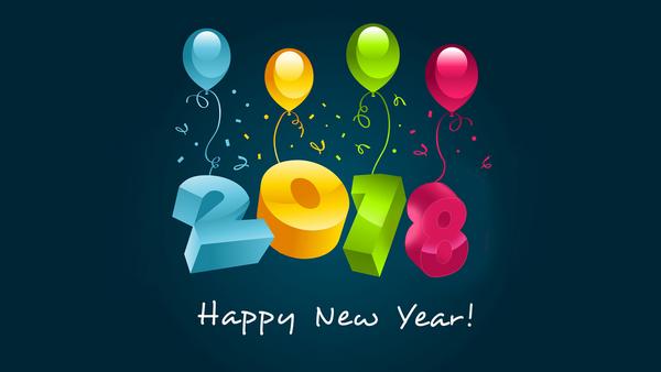 Bộ ảnh đẹp Chúc mừng năm mới 2018 trên mạng xã hội - Ảnh 9.