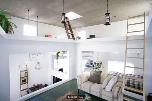 Độc đáo ngôi nhà được thiết kế kỳ lạ, không tường, không cầu thang - Ảnh 10.