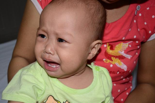 Tiếng khóc xé lòng của bé 11 tháng tuổi mắc ung thư máu cấp lai tủy - Ảnh 10.