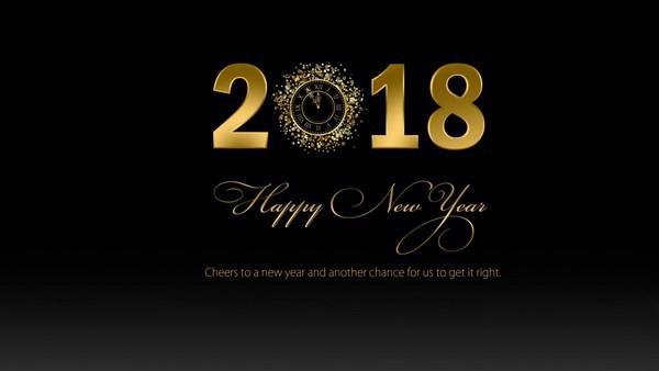 Bộ ảnh đẹp Chúc mừng năm mới 2018 trên mạng xã hội - Ảnh 10.