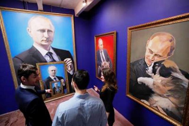 Triển lãm về Tổng thống Putin tại Moscow - ảnh 4