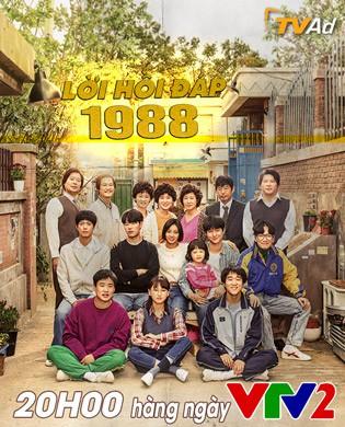 Phim truyền hình Hàn Quốc mới trên VTV2: Lời hồi đáp 1988 - Ảnh 1.