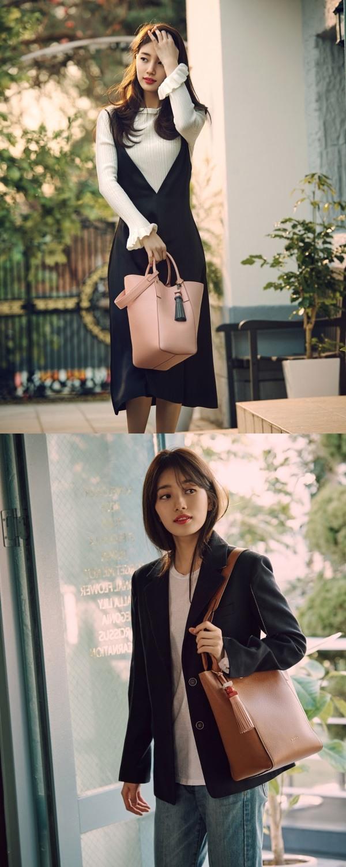 Suzy thu hút mọi ánh nhìn với hai hình ảnh tương phản - Ảnh 2.