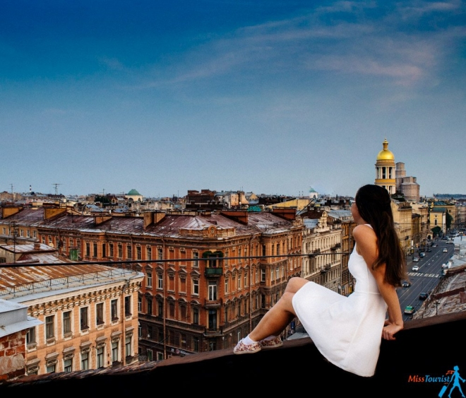 Rooftop Tour St Petersburg