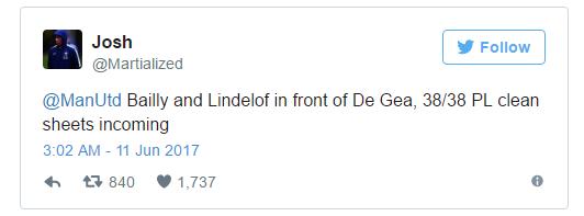 Với Lindelof, CĐV Man Utd sung sướng vì có cặp trung vệ hay nhất thế giới - Ảnh 3.