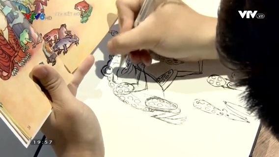 Phim hoạt hình Ngày xưa cổ tích - Điểm hẹn mới cho trẻ nhỏ sắp lên sóng VTV7 - ảnh 1