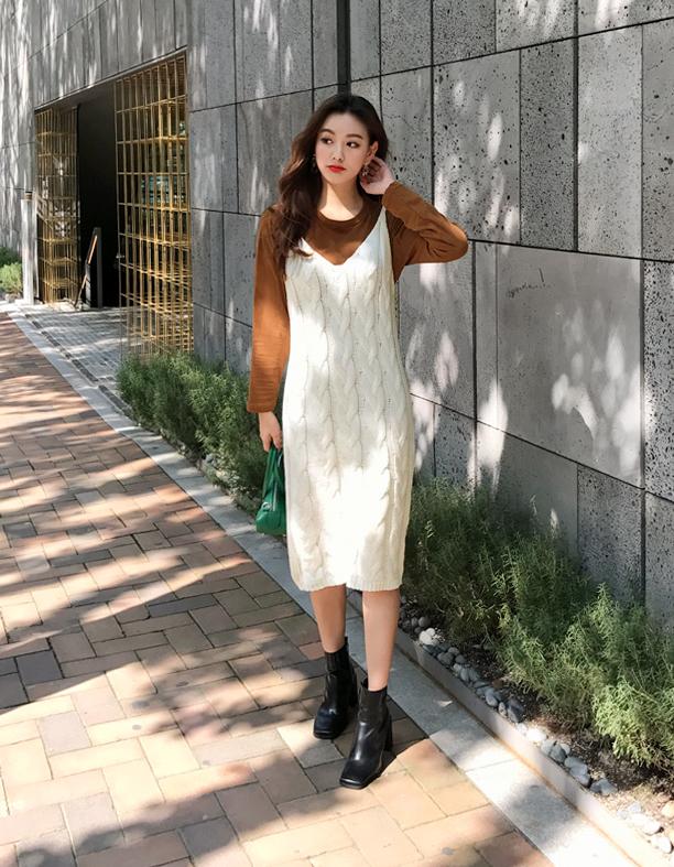 Gợi ý phổi đồ len đẹp chuẩn phong cách Hàn Quốc - Ảnh 7.