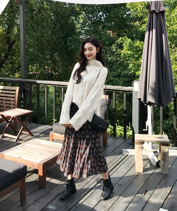 Gợi ý phổi đồ len đẹp chuẩn phong cách Hàn Quốc - Ảnh 9.