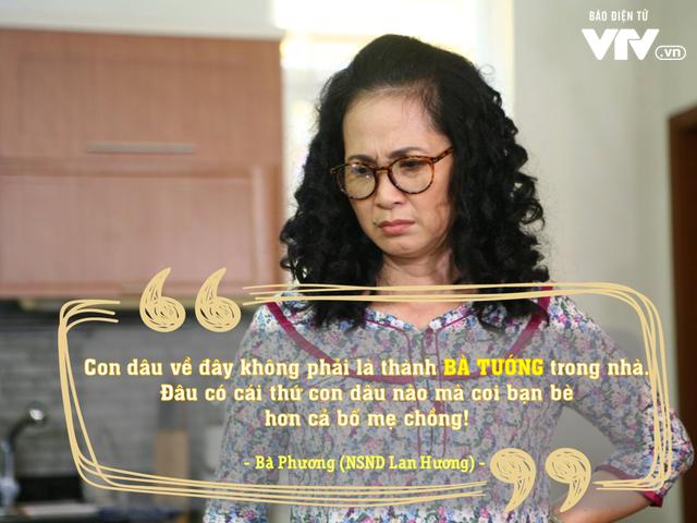 Những câu nói đáng nhớ trong phim hot Sống chung với mẹ chồng tuần qua - Ảnh 6.