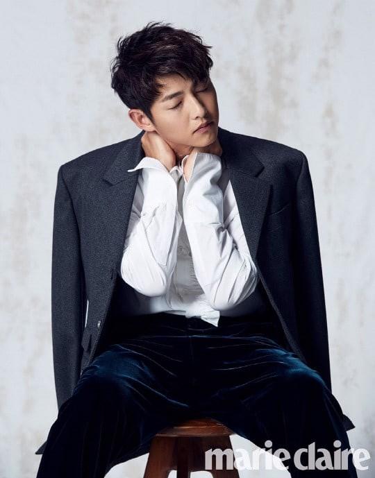 Song Joong Ki: Song Hye Kyo khiến tôi vô cùng hạnh phúc - Ảnh 1.