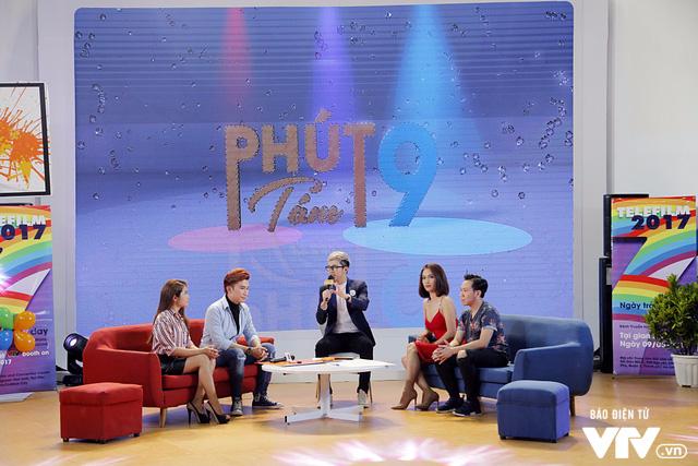 Ái Phương, Chí Thiện cười hết cỡ, chơi hết mình với khán giả tại Telefilm 2017 - Ảnh 3.