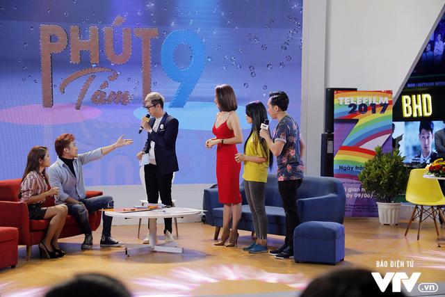 Ái Phương, Chí Thiện cười hết cỡ, chơi hết mình với khán giả tại Telefilm 2017 - Ảnh 2.