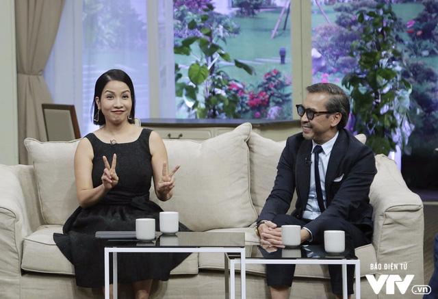 Diva Mỹ Linh dí dỏm kể xấu chồng trong Bản thiết kế cuộc sống - Ảnh 6.