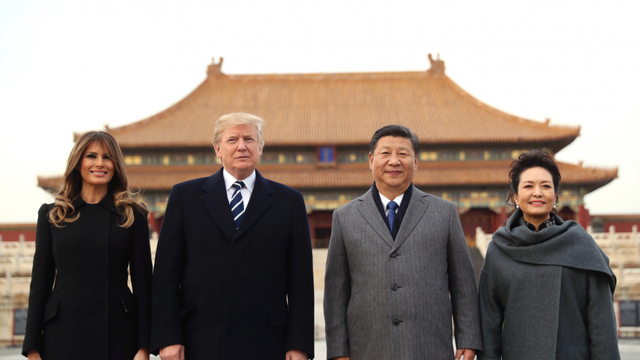Tổng thống Mỹ bắt đầu chuyến thăm chính thức Trung Quốc - Ảnh 2.