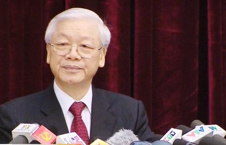 Tổng Bí thư Nguyễn Phú Trọng: Bộ máy hệ thống chính trị vẫn cồng kềnh, nhiều tầng nấc - Ảnh 1.