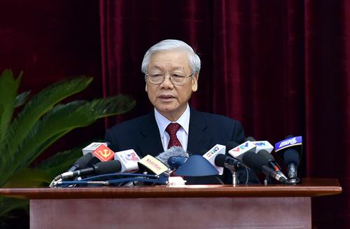 Khai mạc Hội nghị lần thứ sáu Ban Chấp hành Trung ương Đảng khóa XII - Ảnh 1.