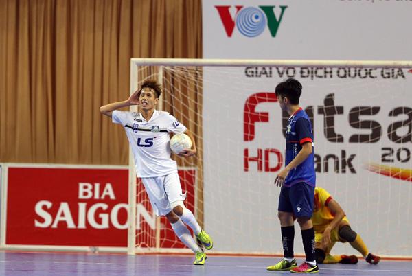 Vòng 15 Giải futsal VĐQG HDBank 2017: Thái Sơn Nam gia cố ngôi đầu bảng - Ảnh 1.