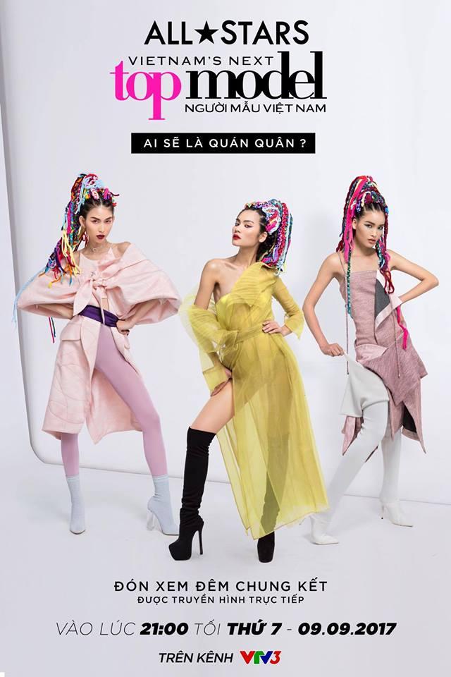 Kim Dung trở thành quán quân Vietnams Next Top Model 2017 - All Stars đúng như dự đoán - Ảnh 1.