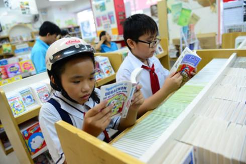 Vì sao trẻ lười đọc sách? - Ảnh 1.