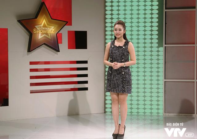 MC Thùy Linh tự nhận là cô nàng bánh bèo của Muôn màu Showbiz - Ảnh 2.
