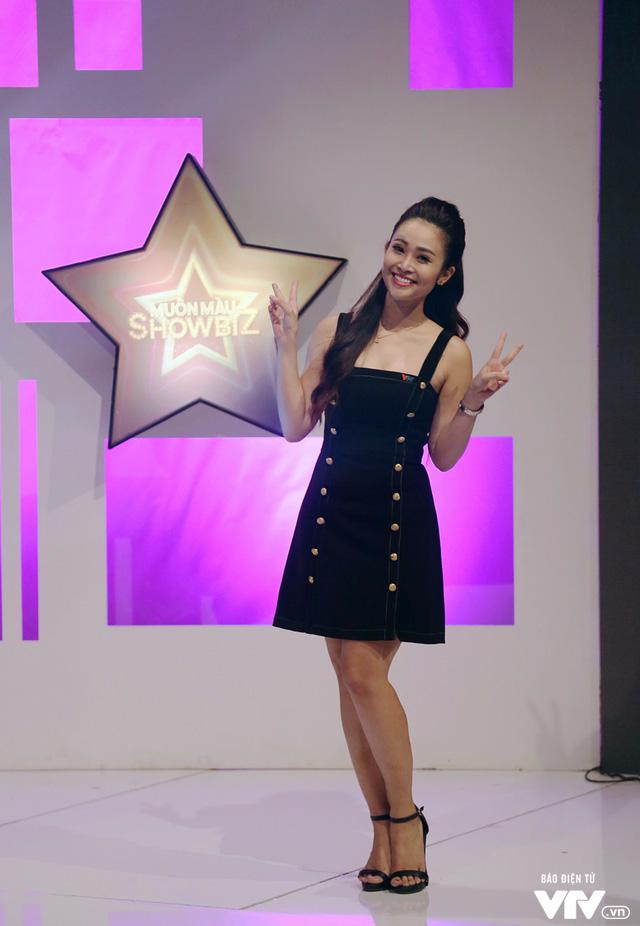 MC Thùy Linh tự nhận là cô nàng bánh bèo của Muôn màu Showbiz - Ảnh 6.