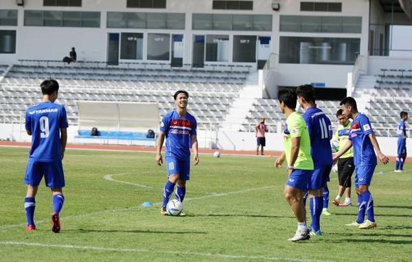 U23 Việt Nam tích cực rèn quân chờ gặp U23 Uzbekistan ở M-150 Cup 2017 - Ảnh 4.