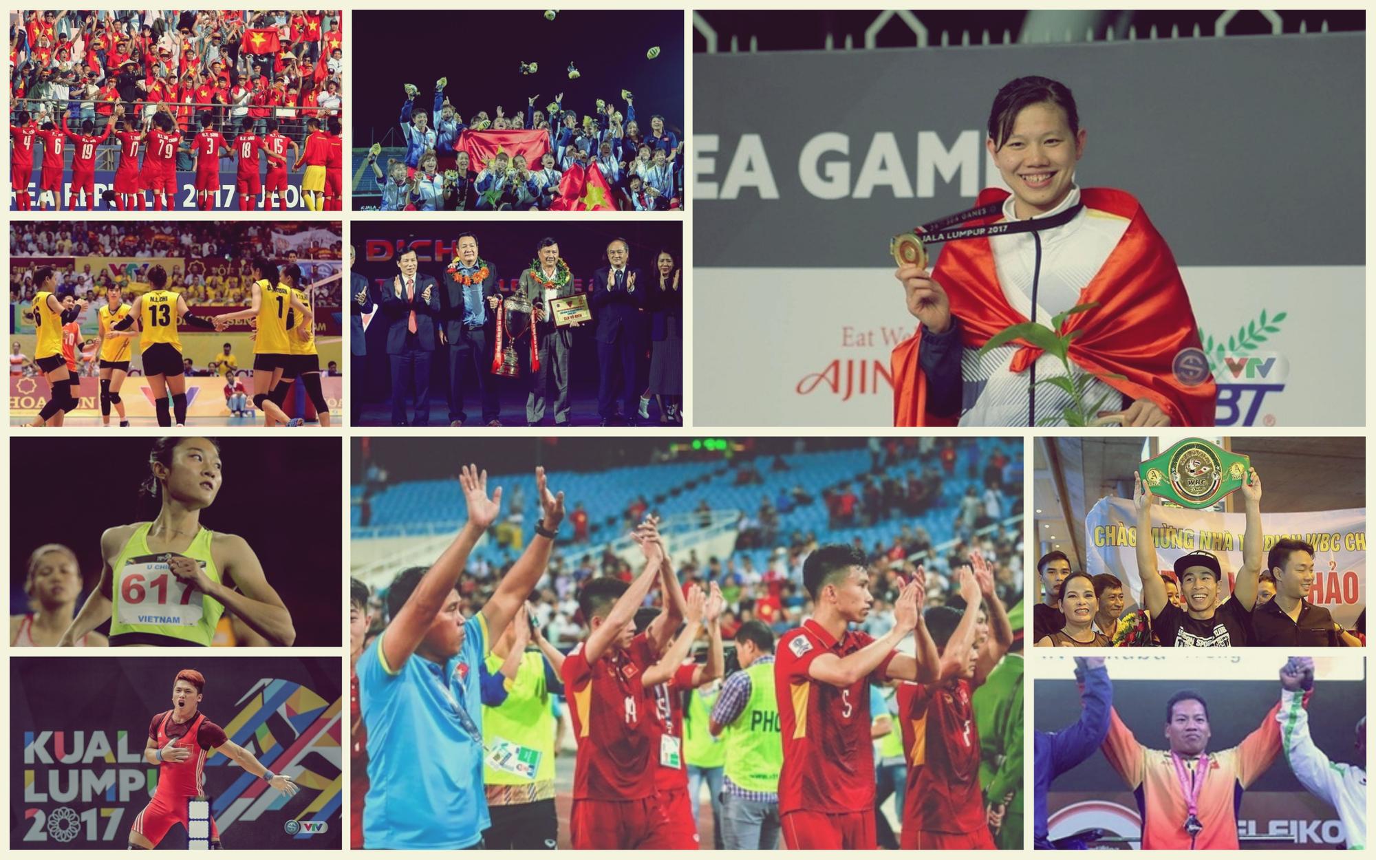 10 dấu ấn đặc biệt của thể thao Việt Nam năm 2017 - Ảnh 11.