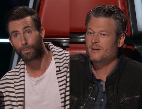 Adam Levine gây chiến với Blake Shelton vì thí sinh The Voice - Ảnh 2.