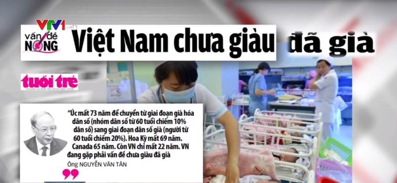 Việt Nam chưa giàu đã già
