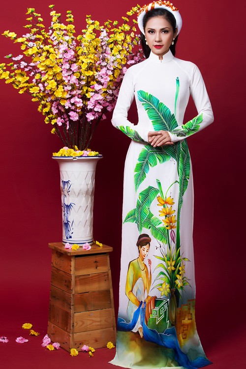 Ngắm bộ ảnh xuân của người đẹp không tuổi Việt Trinh - Ảnh 3.