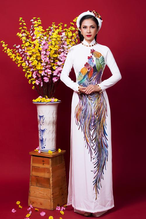 Ngắm bộ ảnh xuân của người đẹp không tuổi Việt Trinh - Ảnh 5.