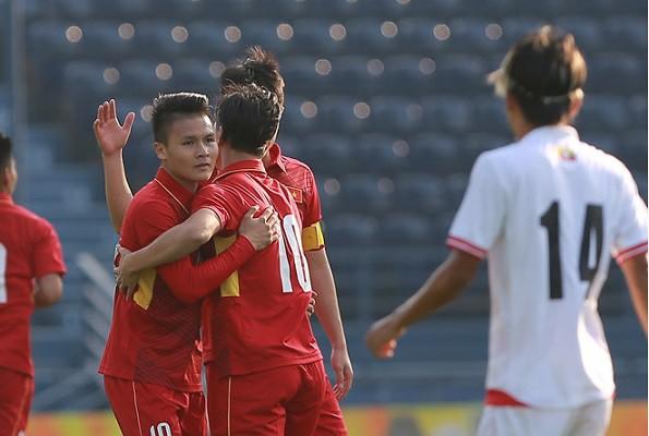 HLV U23 Myanmar bị bất ngờ với U23 Việt Nam - Ảnh 1.