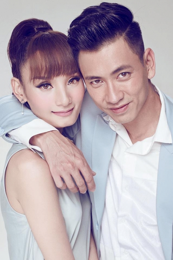 Khoảnh khắc hạnh phúc của vợ chồng Lê Thúy khiến nhiều người ghen tị - Ảnh 1.